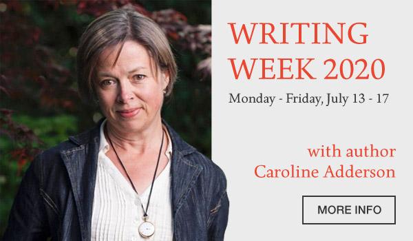 Caroline Adderson Denman Island Writers week